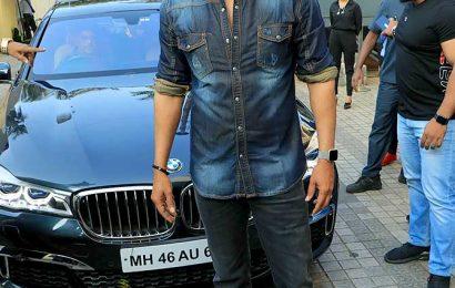PIX: Ajay Devgn-Kajol's kids watch Tanhaji