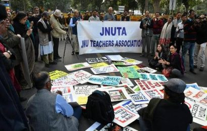 """We don't feel secure, atmosphere not conducive for academic activities,"" says JNUTA to HRD Ministry"