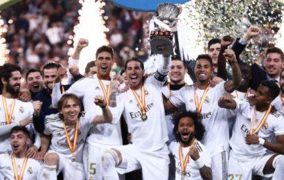 PIX: Real win 11th Super Cup, first in Saudi