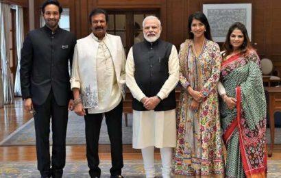 Manchu Family meets PM Modi, what's up!