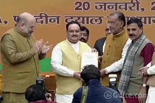 BJP Gets New National President