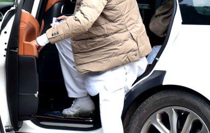 Aishwarya, Amitabh leave for Ritu Nanda's funeral
