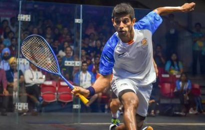 Saurav Ghosal cruises into finals of Pittsburg Open squash