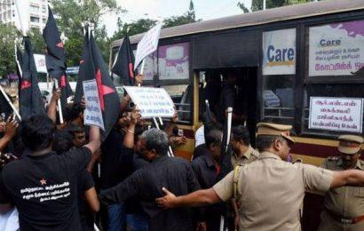 Security enhanced at actor Rajinikanth's residence in Chennai