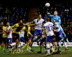 Soccer PIX: Tranmere oust Watford; Atletico stunned