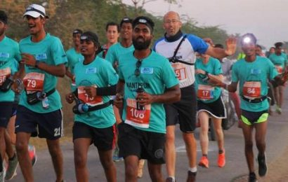 Enthusiastic response to Anantapur Ultramarathon