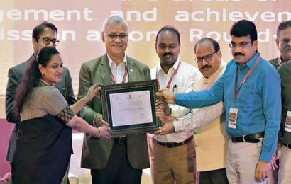 Vizag bags two awards in Apex Conference of Smart Cities