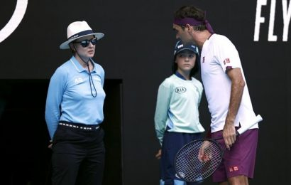 Federer fined $3,000 for swearing at Australian Open