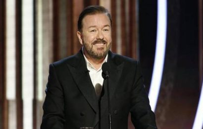 Ricky Gervais roasts Hollywood with explicit jokes at Golden Globes