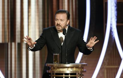 Golden Globes 2020: Ricky Gervais drags Leonardo DiCaprio's young dates, Greta Thunberg and Jeffrey Epstein in opening monologue