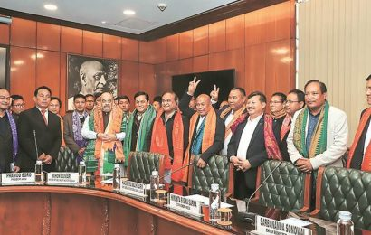 Centre signs pact with Assam, Bodo outfits for 'permanent solution'