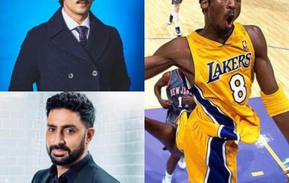 #RIPKobeBryant: Ranveer Singh, Abhishek Bachchan, Arjun Kapoor and other celebs mourn the death of the NBA legend   Bollywood Life
