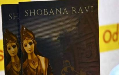 Shobana Ravi's debut novel, is a thriller around the theme of idol theft