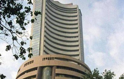 Sensex rallies 320 points; Ultratech jumps 5%