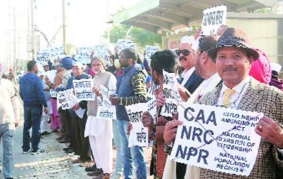 Mohali: PAGAAM organises protests against new citizenship law