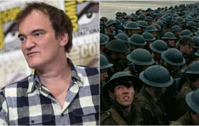 Quentin Tarantino places Christopher Nolan's Dunkirk at 2nd on his best films of the decade list