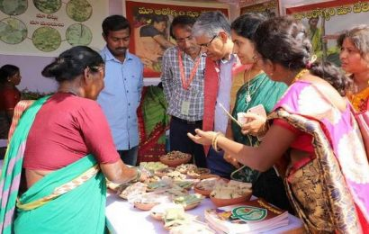 'Marginal farmers following biodiversity practices'