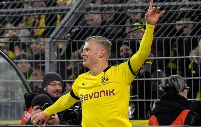 Teenager Erling Haaland scores another two as Borussia Dortmund thump Cologne 5-1