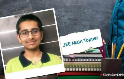 UPSC in mind, JEE Main 2020 topper Parth Dwivedi wants to work for nation's development