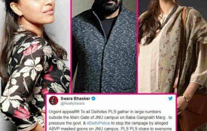 Bollywood Celebs on JNU Violence: Sonam Kapoor, Rajkummar Rao और Anurag Kashyap ने ट्वीट के माध्यम से जाहिर किया अपना गुस्सा, देखें रिपोर्ट