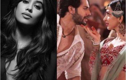 Janhvi Kapoor steps into Kiara Advani's shoes to romance Varun Dhawan in Shashank Khaitan's Mr Lele   Bollywood Life