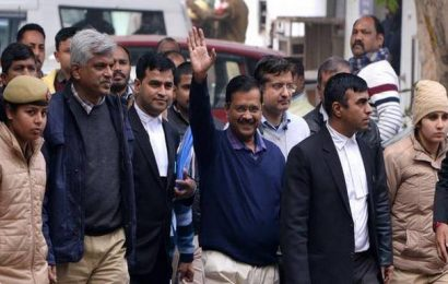 Delhi Assembly elections: Kejriwal files papers after six hours in queue