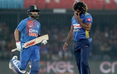 Under-pressure Lasith Malinga blames himself for T20 drubbing in India