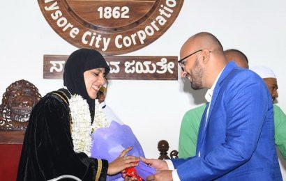Meet Tasneem, the first Muslim woman mayor of Mysuru