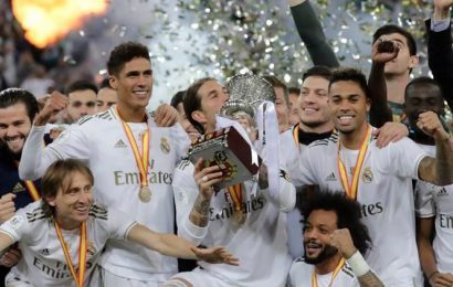 Real Madrid overcome Atletico Madrid in shootout to win Super Cup in Saudi Arabia
