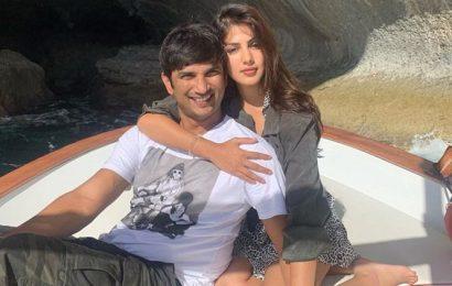 Rhea Chakraborty wishes rumoured boyfriend Sushant Singh Rajput on his 34th birthday: 'Shine on you crazy diamond'