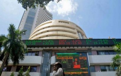 Sensex tanks over 350 points; Nifty below 12,200