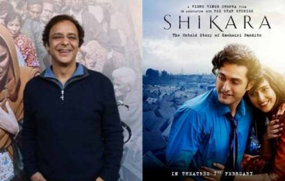Vidhu Vinod Chopra: Shikara is a tribute to my mother