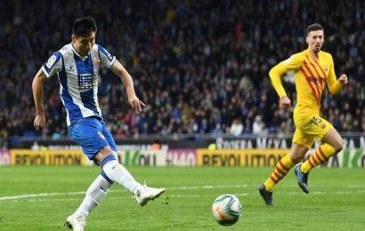 Euro league | Espanyol holds 10-man Barcelona