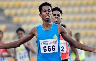 Khelo India Youth Games | Saran leaps to long jump gold