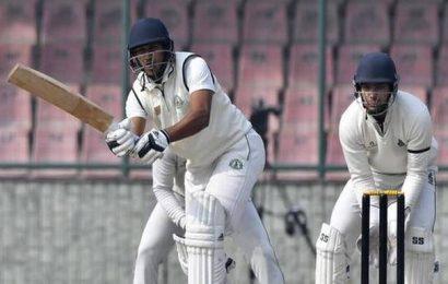 Ranji Trophy | Ganesh Satish hits unbeaten century