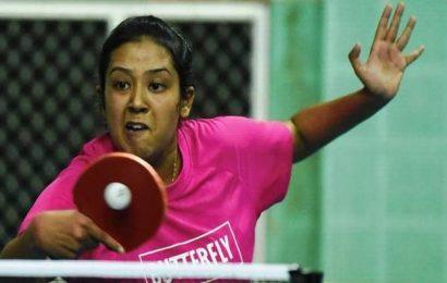 Table tennis | Ankita back with a bang