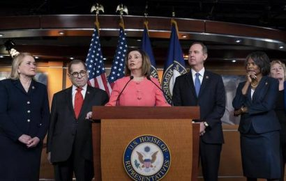 U.S. House votes to send Trump impeachment to Senate for trial