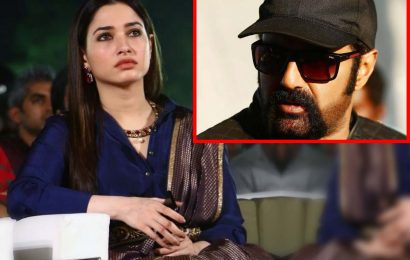 Tamannah Bhatia indirect message shocks Balakrishna?