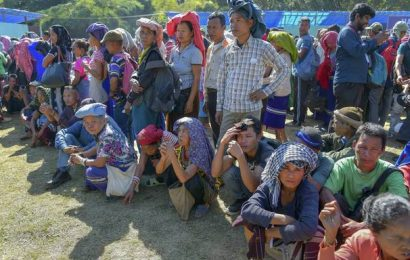 Repatriated Brus in Mizoram demand package parity