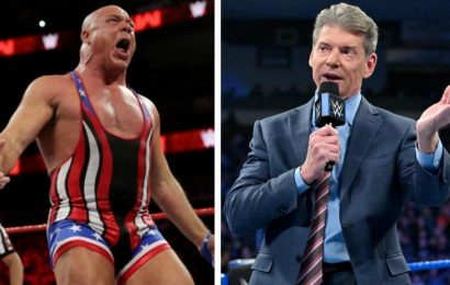 'Vince and I never spoke again,' WWE legend Kurt Angle recalls incident when he almost got into a fight with McMahon