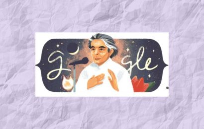 Google celebrates noted poet and reformer Kaifi  Azmi's 101 birthday with a Doodle