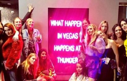 Priyanka Chopra, sister-in-law Sophie Turner have a girls' night out at Las Vegas bachelorette party, see pic