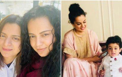 Kangana Ranaut says sister Rangoli feared media will think son Prithvi is Kangana's baby. This is why