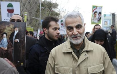 Top Iran commander Qasem Soleimani killed in airstrike at Baghdad airport