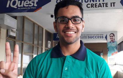 Ujjwal Mehta tops Punjab with 99.99 percentile in IIT JEE Main exam