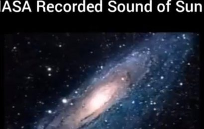 Kiran Bedi shares 'sun chant Om' video, claims it's recorded by NASA. Twitter says 'it's fake'