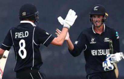 ICC U19 World Cup: Kristian Clarke, Joey Field's all-round show takes New Zealand into semis