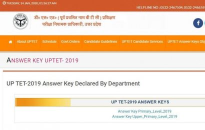 UPTET 2019 Answer key: Last date to raise objections tomorrow