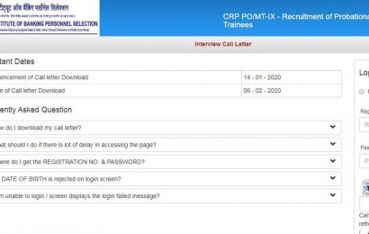 IBPS PO interview call letter 2019 released at ibps.in, here's how to download admit card