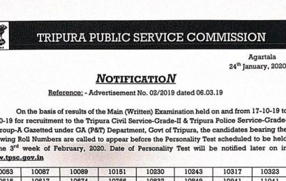 Tripura PSC Civil Services Mains Result 2020 declared at tpsc.gov.in, here's direct link to check